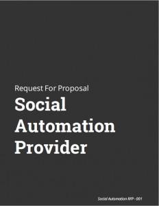 Social Automation Provider RFP Kit